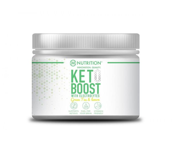 KETO Boost with Electrolytes, Green Tea & Lemon, 170 g
